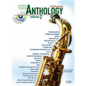 COMPILATION - ANTHOLOGY TENOR SAX VOL.2 24 ALL TIME FAVORITES + CD