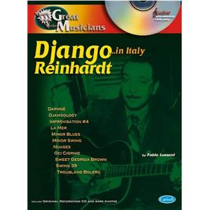 REINHARDT DJANGO - IN ITALY GREAT MUSICIAN GUITAR... IN ITALY + CD