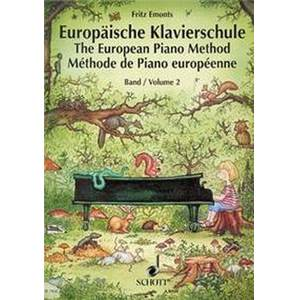EMONTZ FRITZ - METHODE EUROPEENNE VOL.2 PIANO