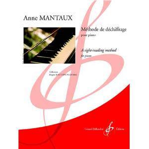 MANTAUX ANNE - METHODE DE DECHIFFRAGE AU PIANO