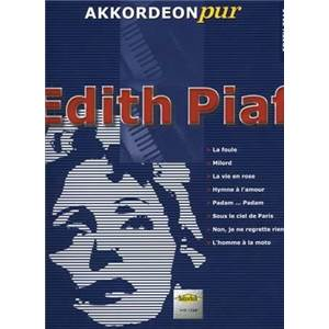 PIAF EDITH - POUR ACCORDEON