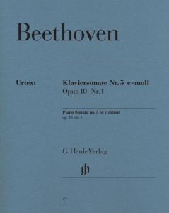 BEETHOVEN - SONATE No 5 OP.10/1 EN DO MINEUR - PIANO