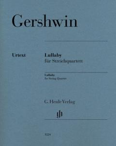 GERSHWIN GEORGE - LULLABY (BERCEUSE) - QUATUOR A CORDES (PARTIES SEPAREES)