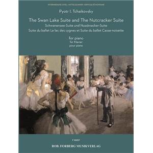 TCHAIKOVSKY P.I. - THE SWAN LAKE AND THE NUTCRACKER SUITE POUR PIANO