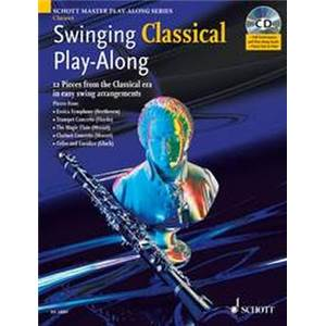 ARMSTRONG MARK - SWINGING CLASSICAL PLAY ALONG + CD CLARINETTE / PIANO
