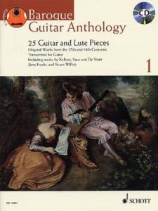 BAROQUE GUITAR ANTHOLOGY VOL.1 +CD - GUITARE OU LUTH
