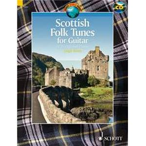 COMPILATION - SCOTTISH FOLK TUNES (31 TRADITIONNELS ECOSSAIS) + CD GUITARE