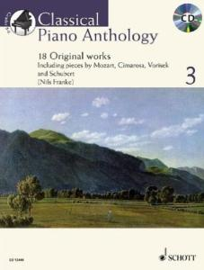 CLASSICAL PIANO ANTHOLOGY VOL.3 +CD - PIANO
