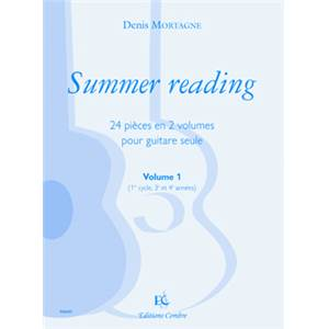 MORTAGNE DENIS - SUMMER READING VOL.1 - GUITARE