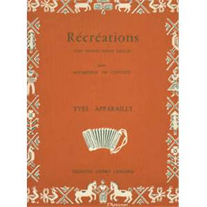 APPARAILLY YVES - RECREATIONS - ACCORDEON