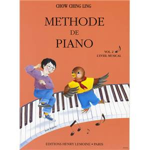 CHOW CHING-LING - METHODE DE PIANO VOL.2 - PIANO