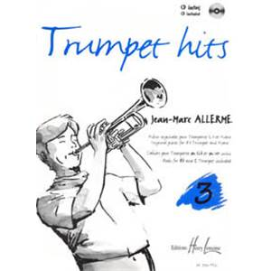 ALLERME JEAN-MARC - TRUMPET HITS VOL.3 + CD - TROMPETTE ET PIANO