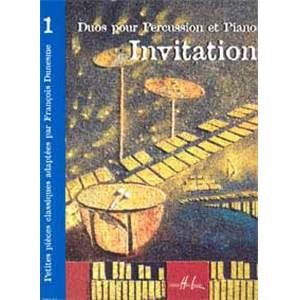 DUNESME FRANCOIS - INVITATION 1 - PERCUSSION
