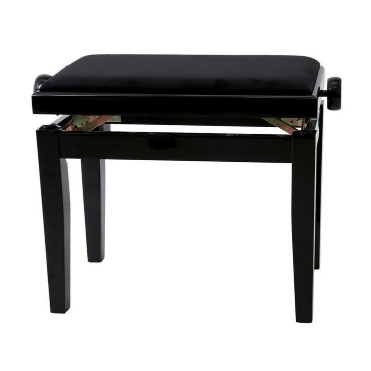 banquette de piano rbm prelude nl noir laque paul. Black Bedroom Furniture Sets. Home Design Ideas