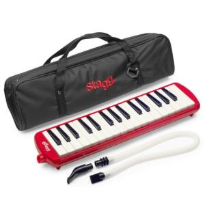 MELODICA PIANO  STAGG MELOSTA32RD  ROUGE
