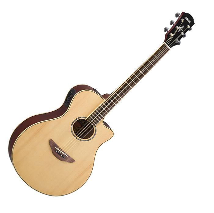 guitare folk electro acoustique yamaha apx 500 nt. Black Bedroom Furniture Sets. Home Design Ideas