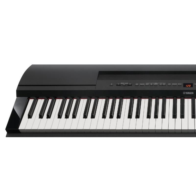 piano numerique portable yamaha p 255b paul. Black Bedroom Furniture Sets. Home Design Ideas