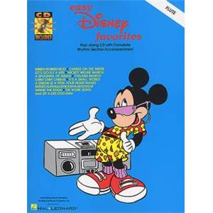 DISNEY - EASY FAVORITES FLUTE + CD