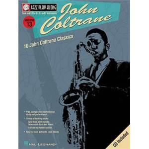 COLTRANE JOHN - JAZZ PLAY ALONG VOL.13 + CD