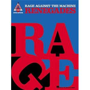 RAGE AGAINST THE MACHINE - RENEGADES GUITAR RECORDED VERSION TAB.