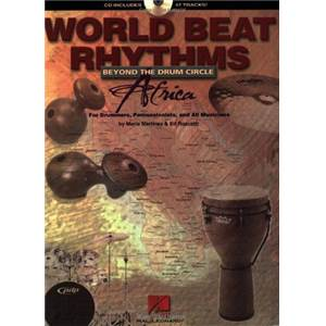 MARTINEZ M. / ROSCETTI E. - WORLD BEAT RHYTHMS AFRICA + CD