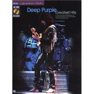 DEEP PURPLE - GREAT HITS SIGNATURE LICKS + CD