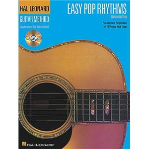 COMPILATION - HAL LEONARD GUITAR METHOD : EASY POP RHYTHMS + CD
