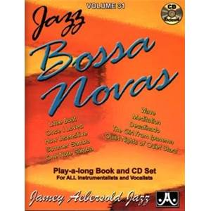 AEBERSOLD JAMEY - VOL. 031 BOSSA NOVA + CD