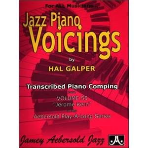 COMPILATION - JAZZ PIANO VOICINGS AEBERSOLD VOL.55 BY HAL GALPER + CD