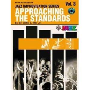 HILL JR WILLIE - APPROACHING THE STANDARDS VOL.3 RHYTHM SECTION + CD