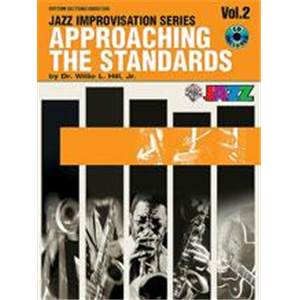 WILLIS J HILL - APPROACHING THE STANDARDS VOL.2 RHYTHMIC SECTION + CD