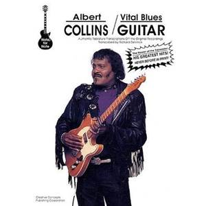COLLINS ALBERT - VITAL BLUES GUIT. TAB.