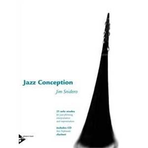 SNIDERO JIM - JAZZ CONCEPTION CLARINET + CD