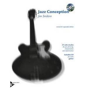 SNIDERO JIM - JAZZ CONCEPTION GUITAR + CD