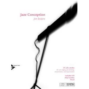 SNIDERO JIM - JAZZ CONCEPTION SCAT VOCAL + CD