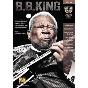 B.B. KING - GUITAR PLAY ALONG DVD VOL.35