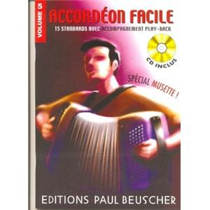 COMPILATION - ACCORDEON FACILE VOL.5 SPECIAL MUSETTE + CD