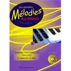 CAMBIER J. / LE COZ M. - MES PREMIERES MELODIES AU PIANO CHANTS DE NOEL + CD