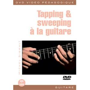 SIGWALT M. - DVD TAPPING ET SWEEPING GUITAR (FRANCAIS)