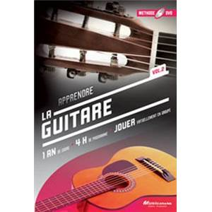 METHODE DE GUITARE 1 AN DE COURS VOL.2 DVD