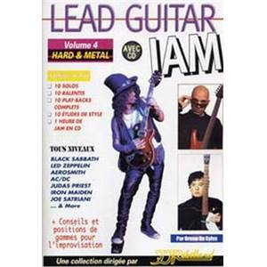 REBILLARD JEAN JACQUES - LEAD GUITAR JAM VOL.4 HARD & METAL + CD