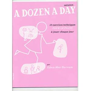 BURNAM EDNA MAE - A DOZEN A DAY MINI VOL.FRANCAIS