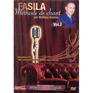 SALAMA MATTHIEU - DVD FASILA METHODE DE CHANT VOL.2