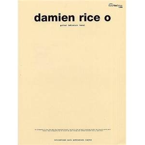 RICE DAMIEN - O GUITAR TAB.