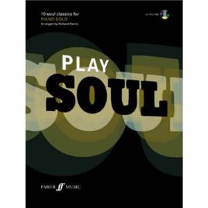 HARRIS RICHARD - PLAY SOUL PIANO + CD