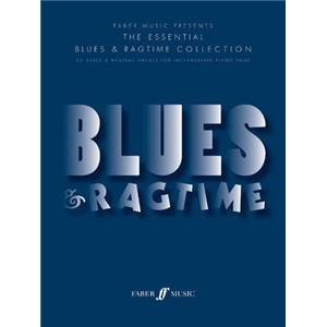 HARRIS RICHARD - BLUES ET RAGTIME 23 BLUES ET RAGTIME FOR INTERMEDIATE PIANO SOLO