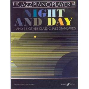 KEMBER JOHN - JAZZ PIANO PLAYER : NIGHT AND DAY AND 16 CLASSICS JAZZ STANDARDS + CD