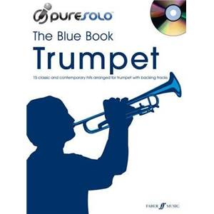 COMPILATION - PURE SOLO BLUE VOL.TRUMPET TROMPETTE + CD