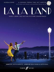 HURWITZ / PASEK / PUL - LA LA LAND MUSIC FROM THE MOTION PICTURE SOUNDTRACK SINGALONG P/V/G + CD