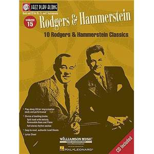 RODGERS / HAMMERSTEIN - JAZZ PLAY ALONG VOL.015 + CD